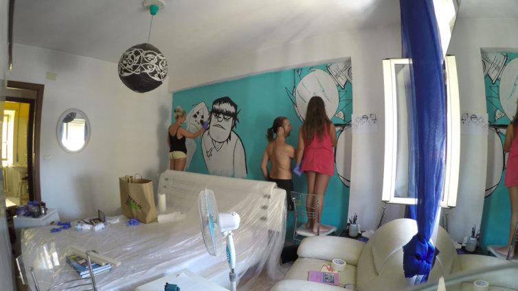 Gorillaz room