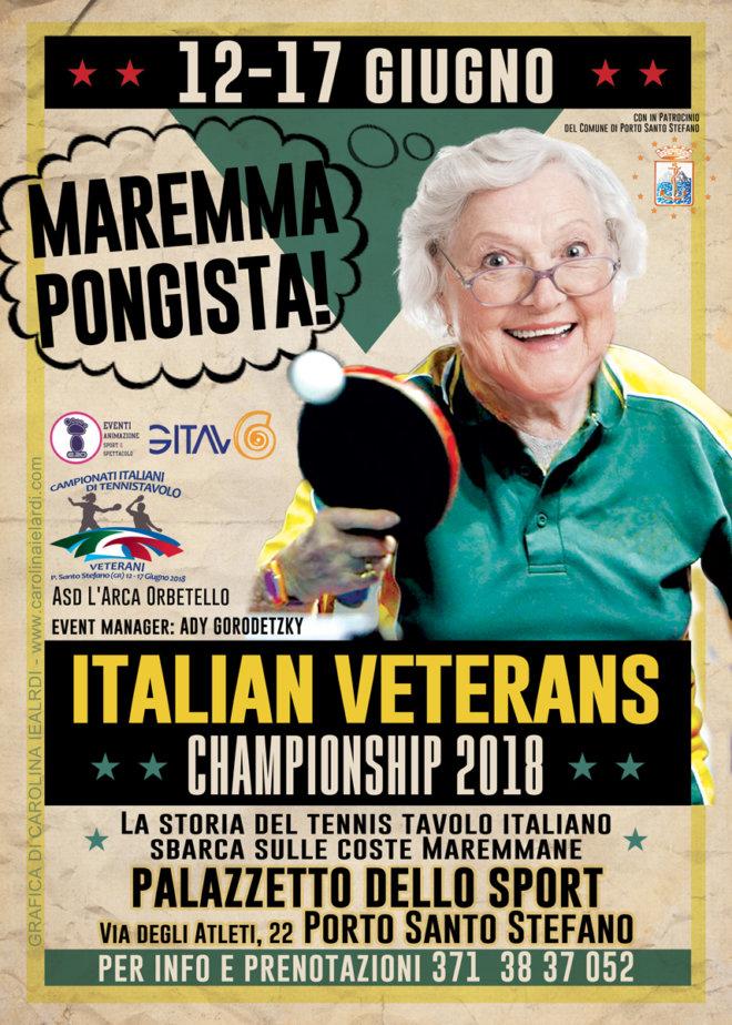 Italian Veterans Tennistavolo Championships 2018