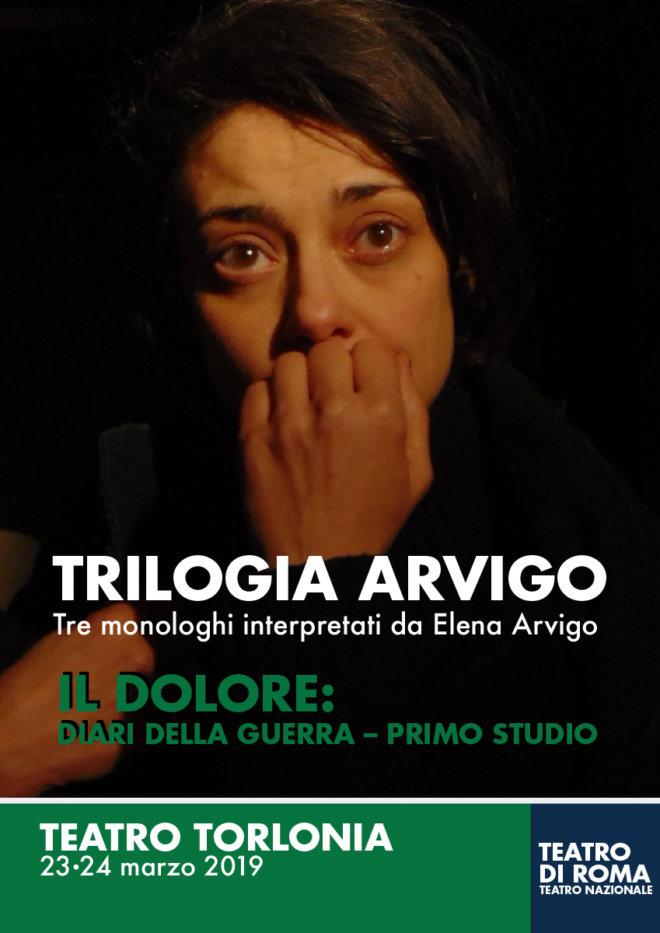 IL DOLORE - Elena Arvigo - Teatro Torlonia_locandina-web